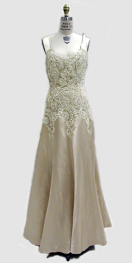 Chanel Dress - 1938 - House of Chanel (French, founded 1913) - Design by Coco Chanel (French, 1883-1971) - Silk