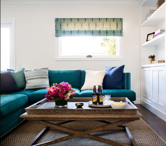 Turquoise Kitchen & Interior by Jute Interior Design - Cute & Co.