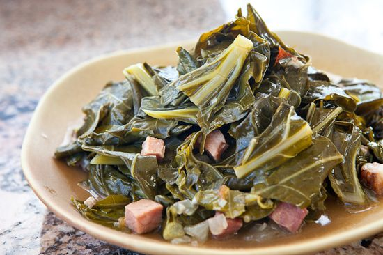 This is similar to how I make them. I usually just use ham hock or neck bone and put some red peppers in for a bit of spice instead of using the cherry tomatoes. I just LOVE collard greens!