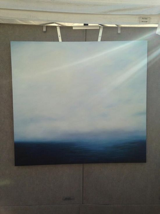 BLUE SEA painting