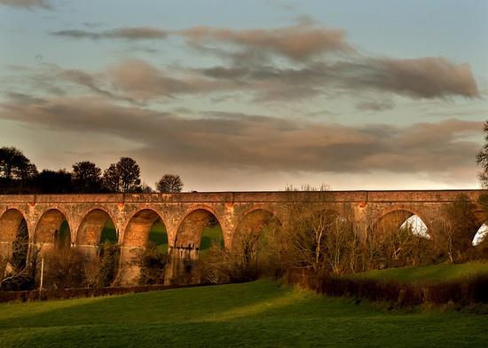 Tassagh railway viaduct, Keady, Co.Armagh, Northern Ireland, by MalachyC, via Flickr