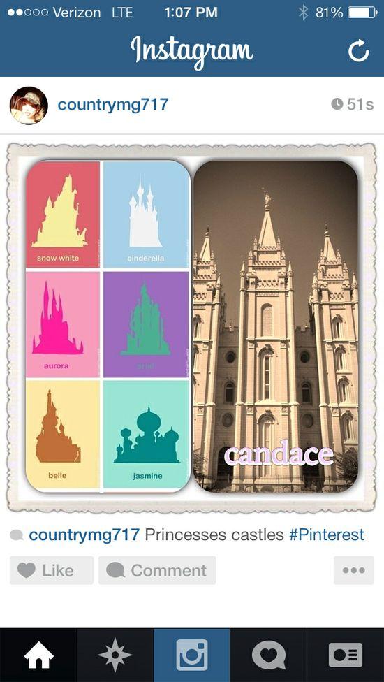 Princesses castles