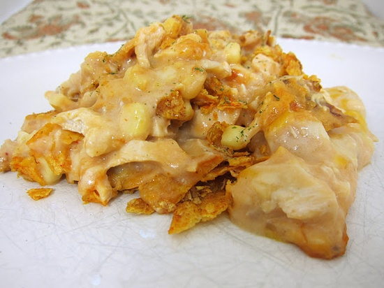 Doritos cheesy chicken