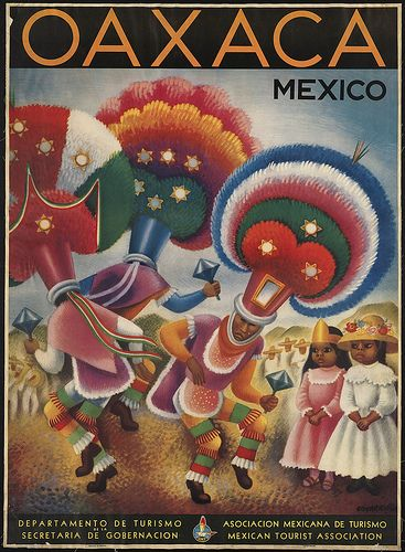 Stunning one!!  Oaxaca - Mexico by Boston Public Library, via Flickr