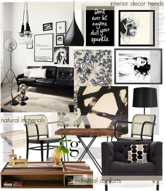 """interior decor trends"" by cutandpaste on Polyvore"