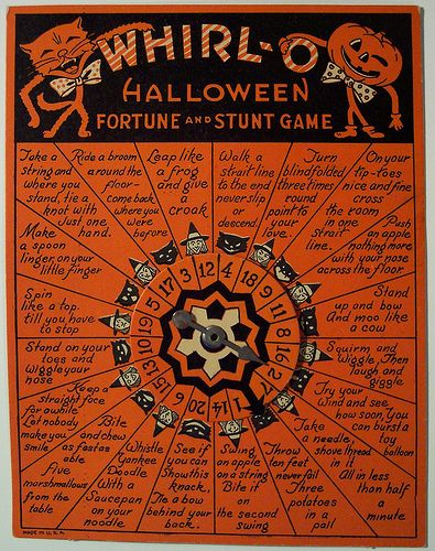 Vintage Halloween Game by riptheskull