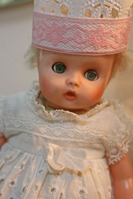 vintage baby doll.