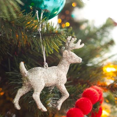 Holiday crafts: Glittered Animal ornament