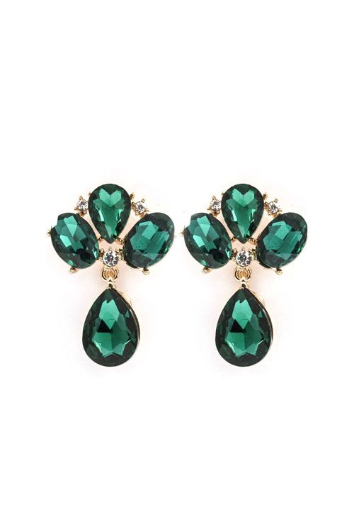 Lizzy Earrings. My favourite stone and colour.