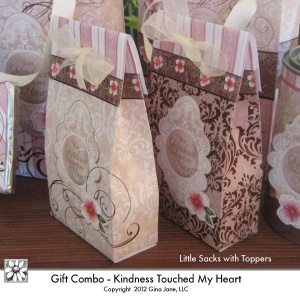 Paper Sacks- Printables for Thank You Gifts.  Do It Yourself Gift Basket Printables. Hand made and heart felt designs Gina Jane Designs - DAISIE Company