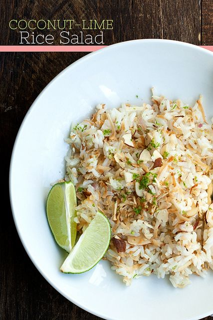Coconut-Lime Rice Salad