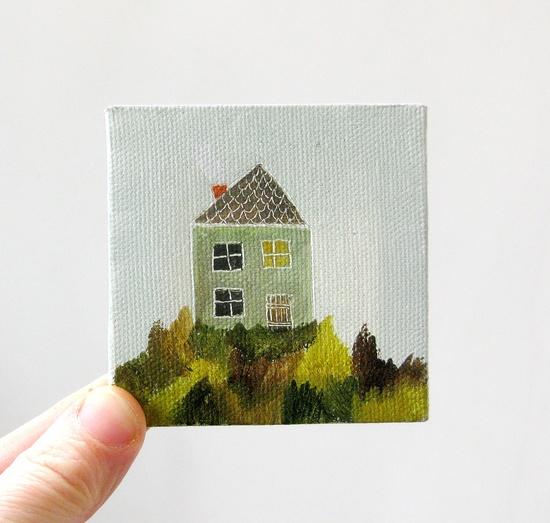 Adorable miniature paintings