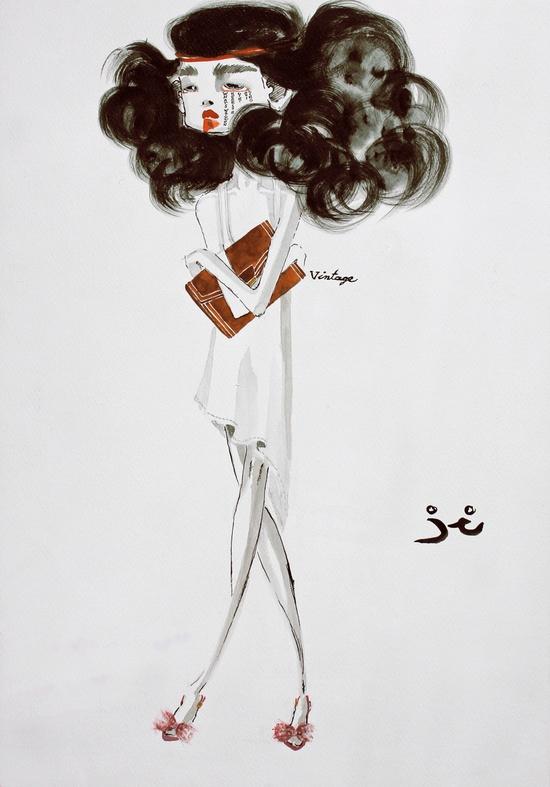 ? fashion illustrations