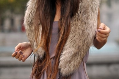 Fur Long Hair Vogue