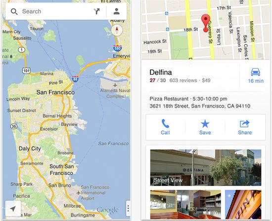 Everything you need to know about the new Google Maps app for iPhone