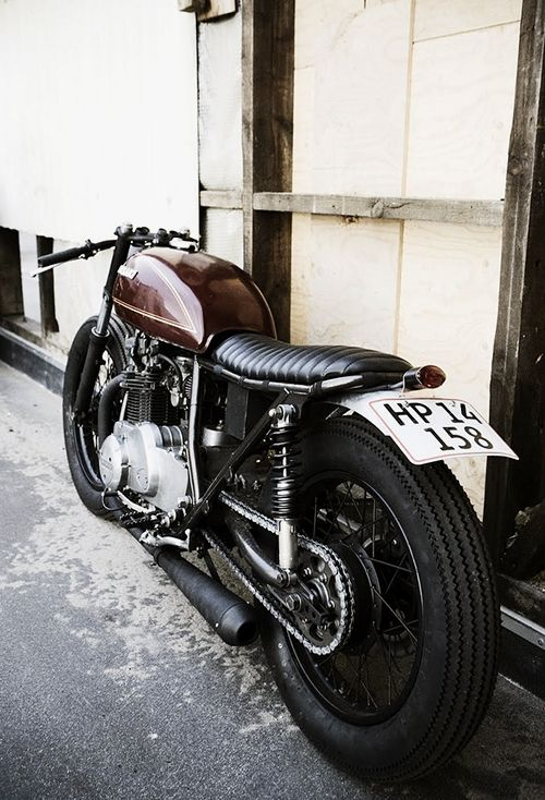 Cafe racer via The Gifts Of Life