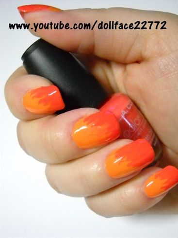 Burning Up - Nail Art Gallery by NAILS Magazine