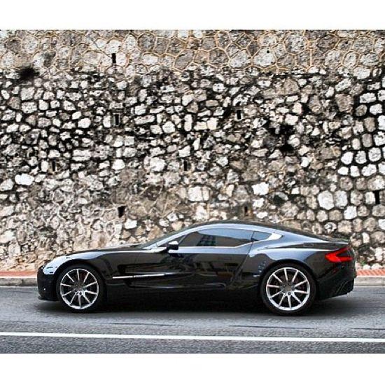 Glorious shiny Aston Martin One-77