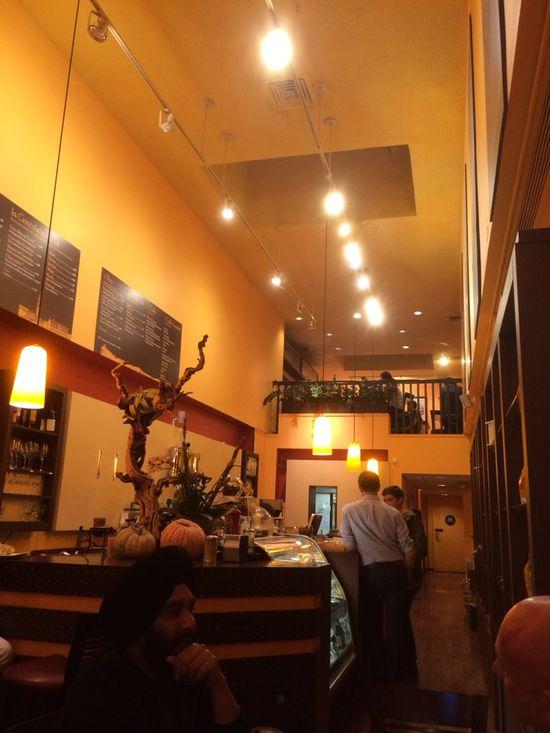 Coffee, espresso, pastries, and fancy dessert. #coffee #dessert