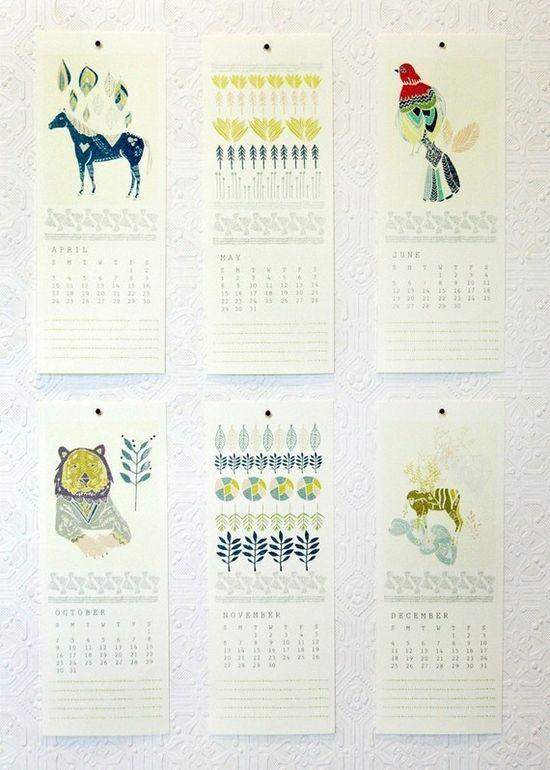 Leah Duncan 2011 calendar