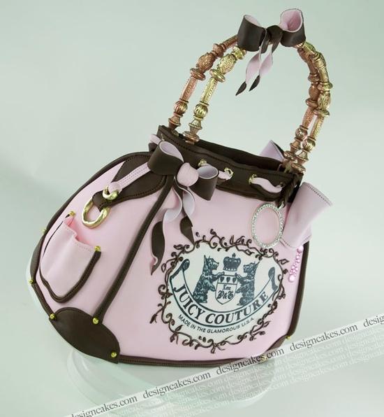 Awesome handbag cake!!