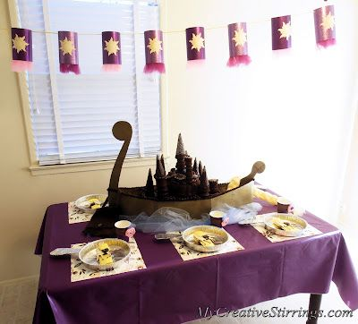 Tangled Birthday Party (Rapunzel)