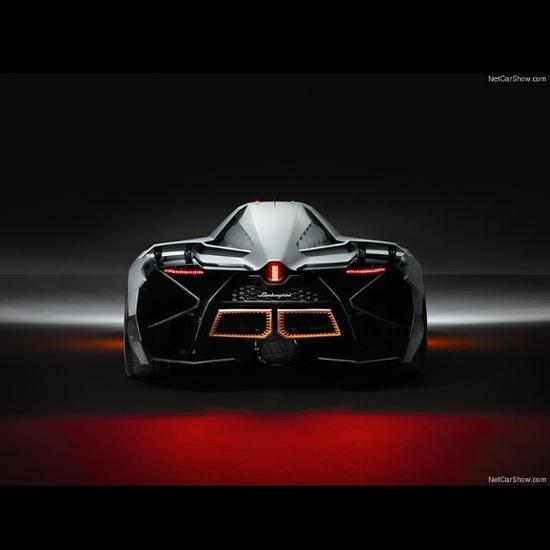 The rear view of the new Lamborghini Egoista Concept 'Booty-ful' #Lambo