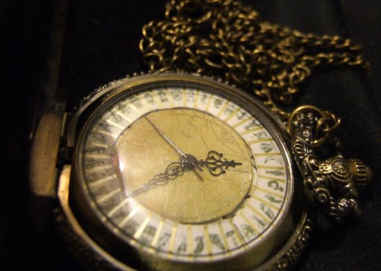 Alethiometer inspired watch/necklace