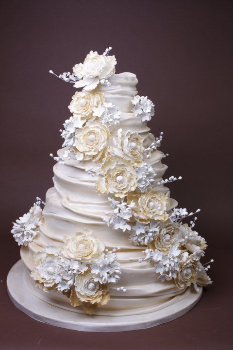 Lulu Scarsdale Wedding Cake