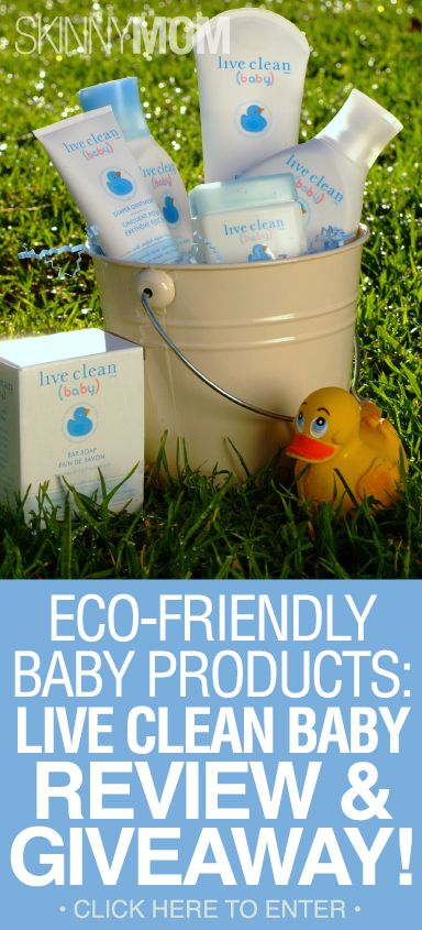 Get Amazing Eco-Friendly Baby Products With The Live Clean Baby Review & Giveaway!!!!!
