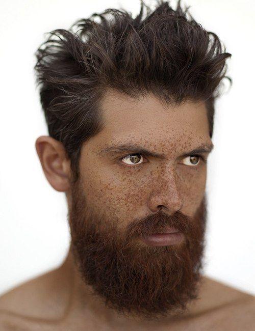 #freckles #hair #men #menshair