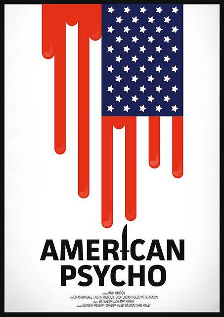 American Psycho #Alternative #Movie #Poster