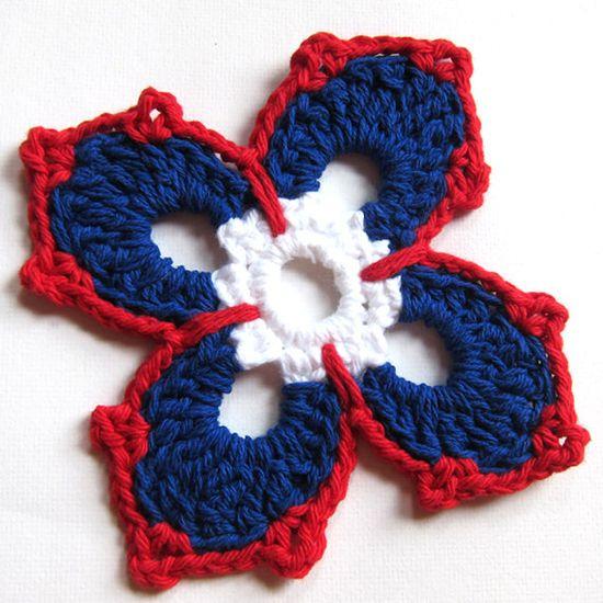 Happy 4th of July! Let the Fireworks Begin! -  Crochet Coaster Pattern by KnittingGuru