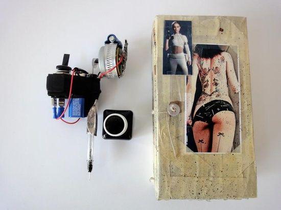 handmade tattoo gun prison style by #handmade cards #handmade handgun #handmade headbands #handmade ravioli