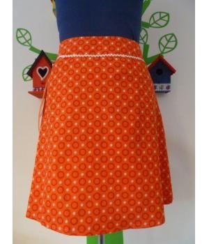"""Handmade skirt """"Miss Retro Queen""""."""