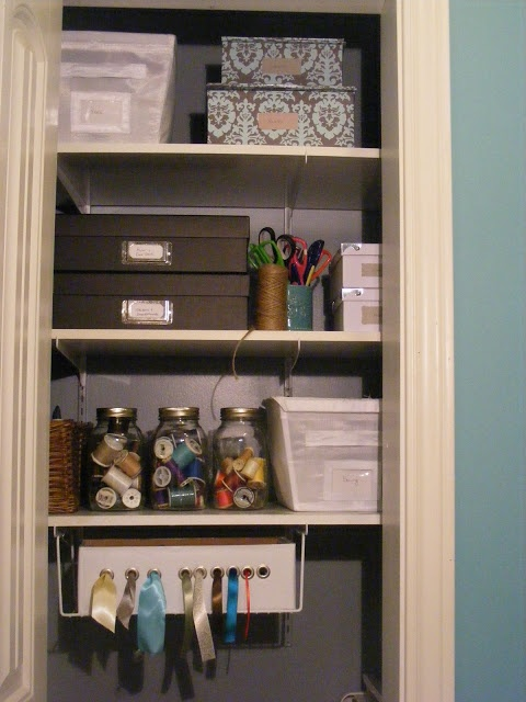 A nice guide to organising your crafts