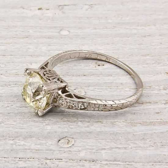 I heart vintage rings