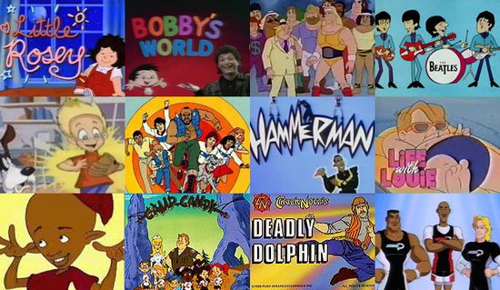 old cartoons from the 70s and 80s