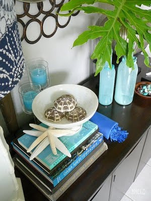 ::: FOCAL POINT :::: DECORATING WITH STARFISH-lots of great ideas on this page