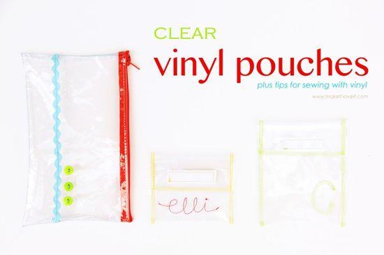 Vinyl Pouches