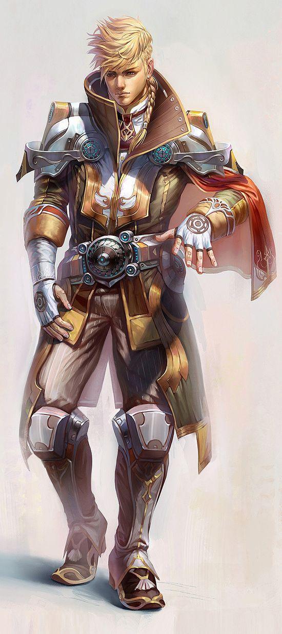 Character Design by Yu Cheng Hong