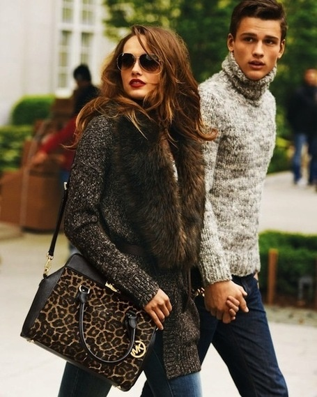 Michael Kors You're Star Fall 2012 Catalog~ Between Leather and Point