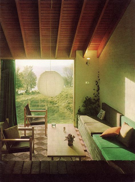 Sunny room. Golden Homes Magazine 1974