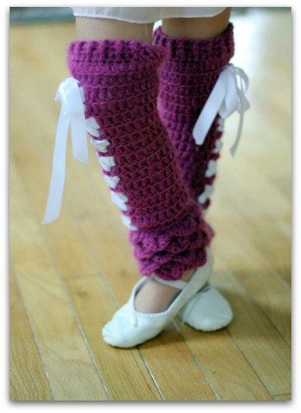 Crochet PATTERN Crocodile Stitch Legwarmers by bonitapatterns, $5.00