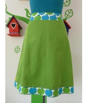 """Handmade skirt """"Miss Apple Green"""""""