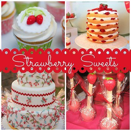 16 Sweet Strawberry Party Ideas!