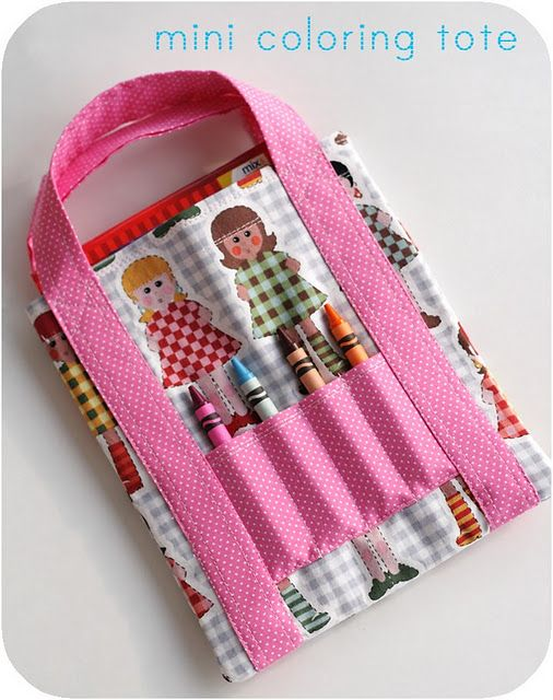 crayon bag