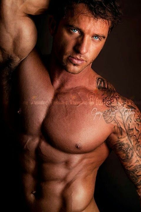 One of the most gorgeous men alive, Gary Taylor! Mhmm! :)