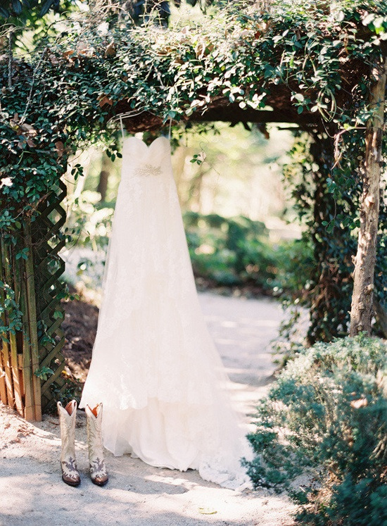 boots and bridal gowns Dress by Pronovias / Photography By / odalysmendezphoto... Design By / adornedeventdesig...
