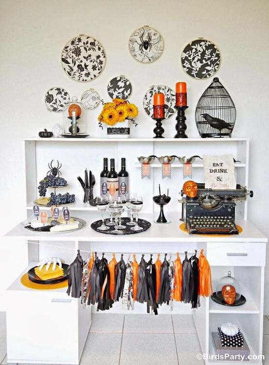 How to Style a Halloween Party from Bird's Party Blog
